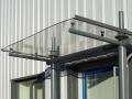 Industrial unit entrance canopy - Bradford