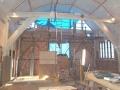 West Gable Under Repair (Interior)